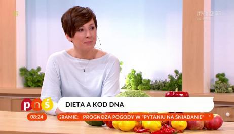 agnieszka piskala na planie programu telewizyjnego - pytanie na sniadanie w tvp