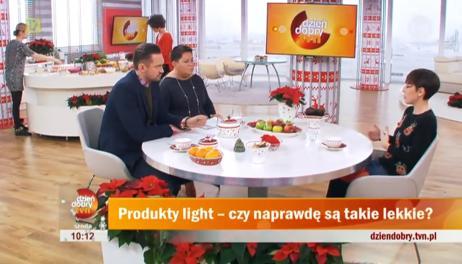 Agnieszka Piskała, Dorota Wellman i Marcin Prokop na planie DDTVN
